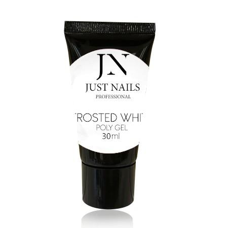 JUSTNAILS Polygel - Frosted White 30ml