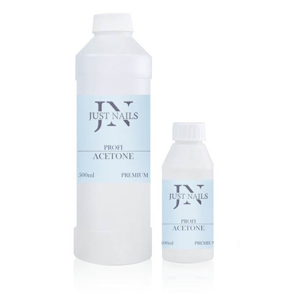 JUSTNAILS Premium Aceton 100% Soak Off & Acryl Remover