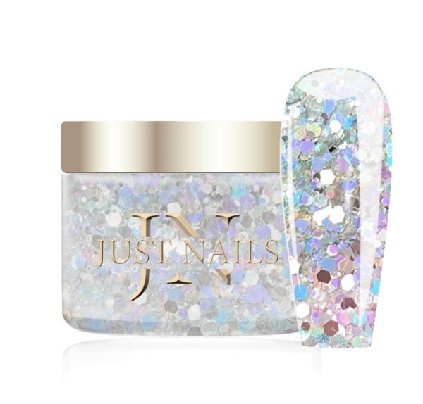 JUSTNAILS Premium Acryl Pulver - ICY RAINBOW 12g