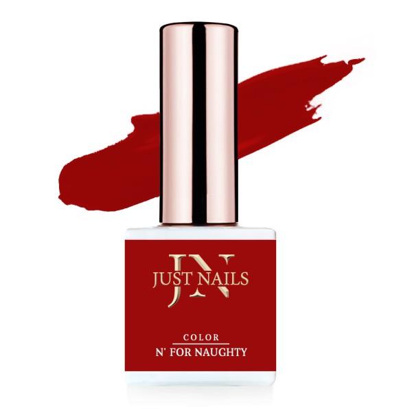 JUSTNAILS Flexi Colour - N' for Naughty - Polish Shellac Soak-off Gel 12ml