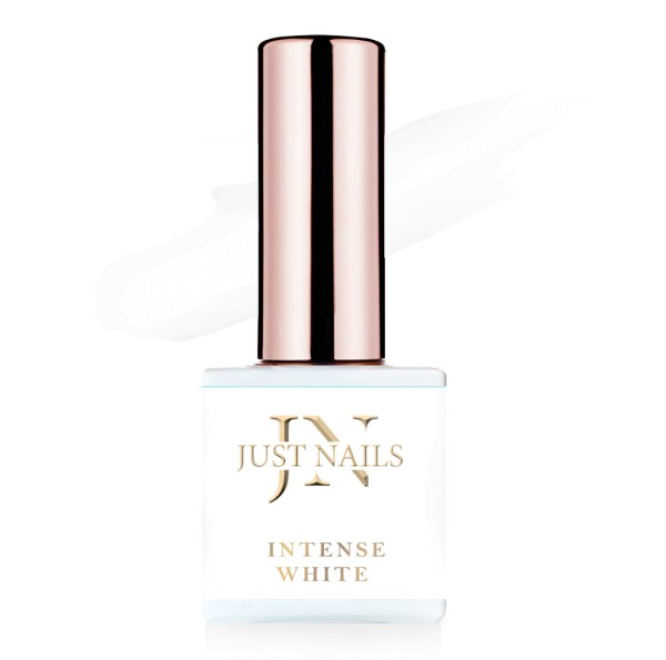 JUSTNAILS Flexi Colour - Intense White - Polish Shellac Soak-off Gel 12ml