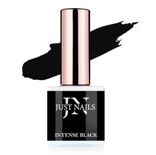 JUSTNAILS Flexi Colour - Intense Black - Polish Shellac Soak-off Gel 10ml