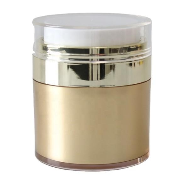 JUSTNAILS Premium Airless Gold Pumpspender Dispenser 50ml