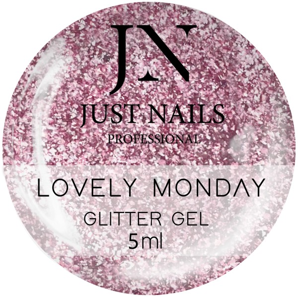 JUSTNAILS Farbgel Lovely Monday - Chrome Effect Gel