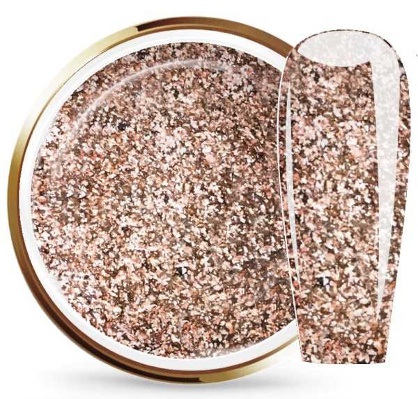 JUSTNAILS Farbgel Cinnamon Gold