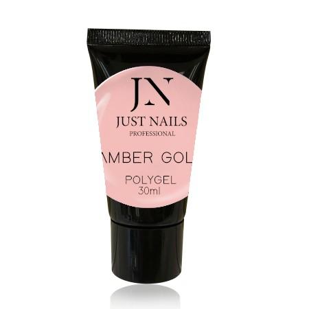 JUSTNAILS Polygel - Amber Gold 30ml