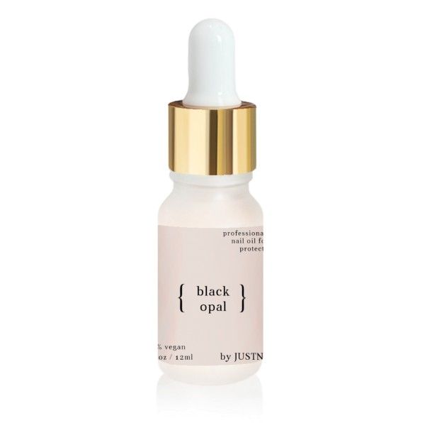 JUSTNAILS Premium Protect Nagelöl - Black Opal 10ml