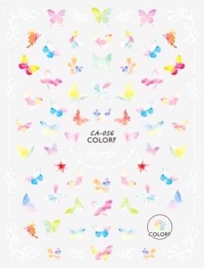 JUSTNAILS 3D Schmetterling Butterfly Sticker selbstklebend - 04